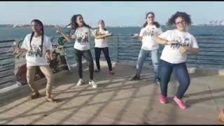 Flashmob de Hey DJ CNCO desde El Malecon de Cataño PR.
