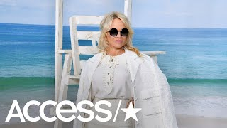 Pamela Anderson Channels Her 'Baywatch' Days At Chanel's Paris Fashion Week Show | Access