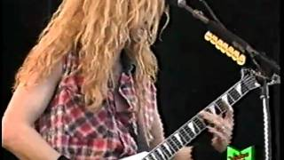 MEGADETH - Foreclosure of a Dream  (Live @ Reggio Emilia 1992)