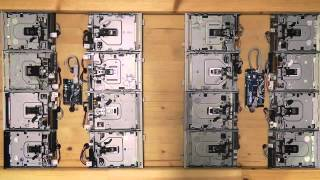 Star Wars - Imperial March - on 16 floppy drives