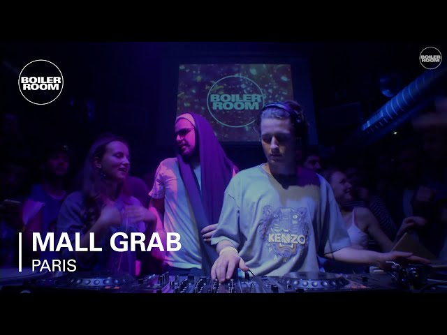 Video en directo de Mall Grab para Boiler Room Paris Dj Set