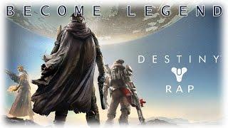 Become Legend - Destiny Rap Ft. Game Footage by The 8th hawk #NemRaps