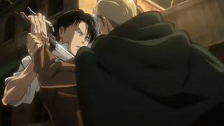 Levi VS Erwin [HD] - Attack on Titan OVA (Shingeki no Kyojin)