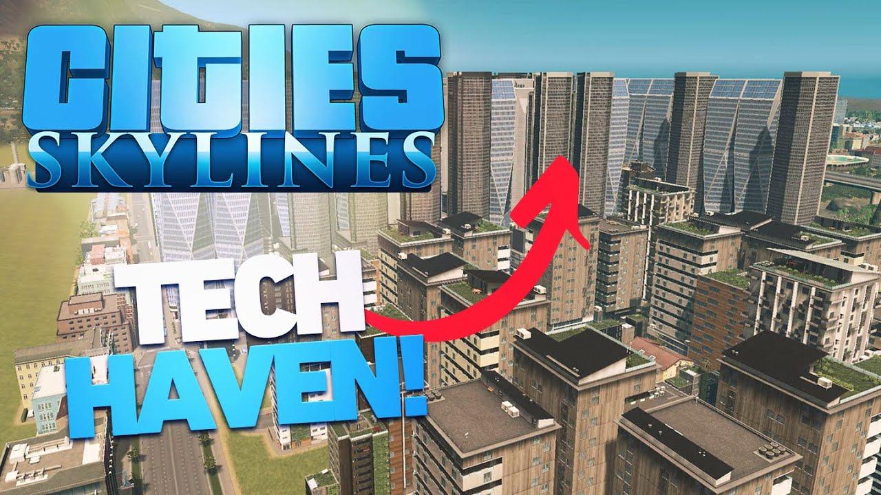 Zanitor - IT Tech Haven! - Cities: Skylines