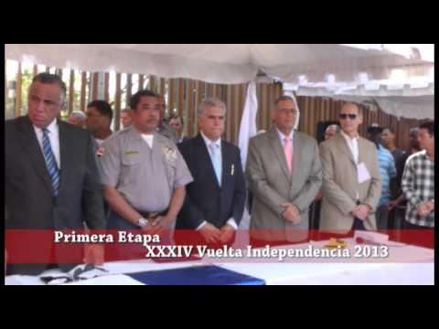 XXXIV Vuelta Independencia 2013, Inauguración, Primera parte