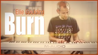 Ellie Goulding - Burn (Instrumental) | Jake Weber Cover