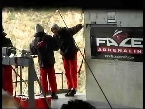 My Bungee jump video in South Africa