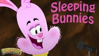 Sleeping Bunnies Song - Music for Children - Rainbow Songs by Howdytoons