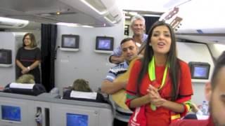 Cuca Roseta - Supresa a bordo de um avião da TAP