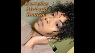 EVERYDAY NATURAL MAKEUP ROUTINE | T The Model
