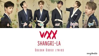 VIXX - Shangri-La [도원경] Colour Coded ; Han/Rom/Eng
