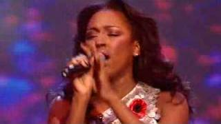 Alexandra Burke's Winning Performance-Donna Summer