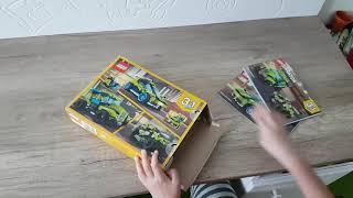 Pierwsza zabawa z lego creator 31074 cz. 1