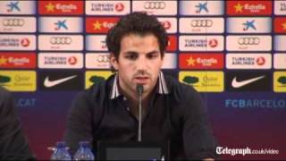 Cesc Fabregas' emotional tribute to Arsenal manager Arsène Wenger