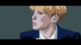 BTS Blood, sweat and tears ANIMATION