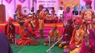 बाड़मेर महाविधालय वार्षिक उत्सव 2018 मे विधार्थियों द्वारा बाबा रामदेवजी की आरती