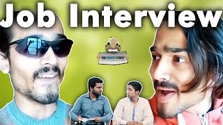 BB Ki Vines- | Fameer Fuddi and Bancho - Job Interview || THECRAZZYSTREET || KG IS HERE