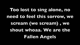 Fallen Angels Lyrics- Black Veil Brides
