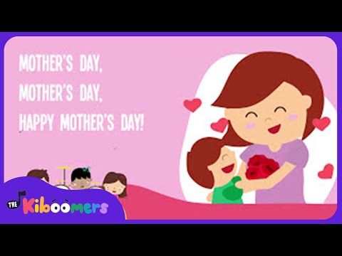 Happy Mother's Day | Kids Song | Song Lyrics Video | The Kiboomers - YouTube