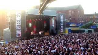 Courteeners @ Castlefield bowl 06/07/2013. Are you in love with a notion?