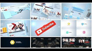 Creative Youtube Pack | After Effects template