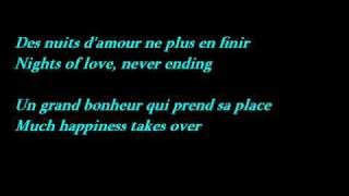 Edith Piaf - La Vie En Rose (Lyrics - French / English Translation)