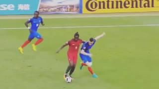 GOLO DO ÉDER EM SLOWMOTION - PORTUGAL 1 X 0 FRANÇA ⚽  FINAL DA UEFA EURO 2016