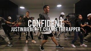 Confident - Justin Bieber ft. Chance The Rapper | Beginner Class | Faruq Suhaimi Choreography