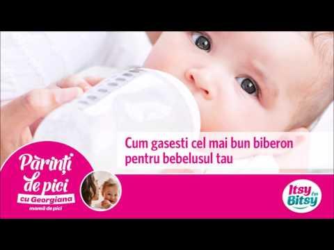 Cum gasesti cel mai bun biberon pentru bebelusul tau