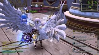 Dragon nest Clear Sky White wing , tail, decal on lancea