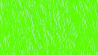 rain in green screen free stock footage