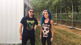 Saludos Arch Enemy - Knot Fest Colombia 2018