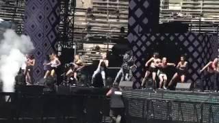 """Lisandro Cuxi répète son single """"Danser"""" à Rennes avant le concert"""