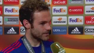 Wywiad z Juanem Matą po finale Ligi Europy UEFA || Piłka nożna