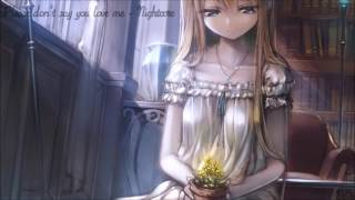 Please Don't Say You Love Me - Nightcore
