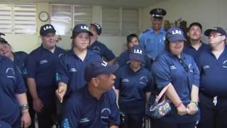 Liga Atlética Policíaca celebra su aniversario