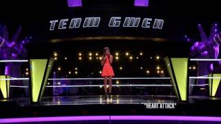Bryana Salaz - Heart Attack | Knockout | The Voice 2014