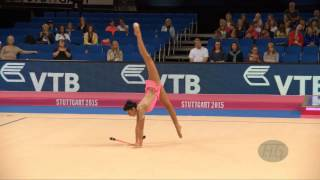 Varvara FILIOU (GRE) 2015 Rhythmic Worlds Stuttgart - Qualifications Clubs
