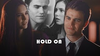 Stefan & Elena | hold on { 8x16}