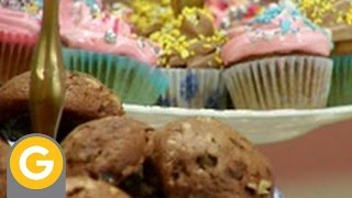 Recetas y secretos de Narda - Muffin de bananas - Torta de chocolate - Cookies de chocolate