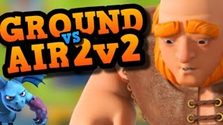 "2V2 CLAN BATTLE ""Experimental Decks"" - All Spells, Ground vs Air & Fav Cards IN Clash Royale"