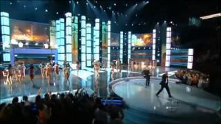 PITBULL FT JUAN MAGAN- AYER LA VI -PREMIOS LO NUESTRO 2012 (HD)
