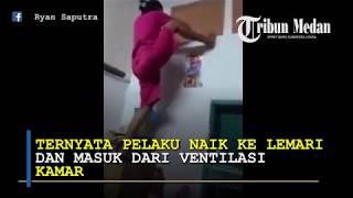 Viral, Pembantu Rumah Tangga Di MedanTerpergok Masuk Ke Kamar Majikannya Dengan Cara Tak Lazim