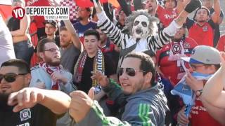 Sector Latino Chicago Fire vs.  Montreal Impact