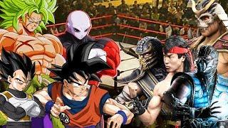 Dragon Ball Super VS Mortal Kombat 11