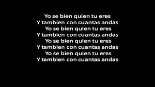 Amaro Ft Opi, Maluma & Golpe A Golpe - Yo Se Bien Quien Tu Eres Remix (Letra) ✓