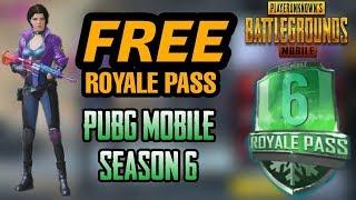 Download thumbnail for PUBG MOBILE ROYAL PASS 6 Let's Enjoy