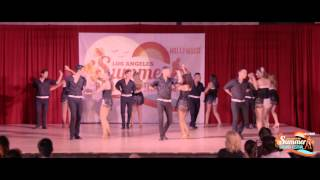 CSUS RITMO SALVAJE AT THE LA SUMMER BACHATA FESTIVAL 2015