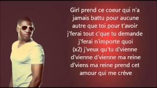 Axel Tony ft. Admiral T - Ma reine - Paroles [HD]