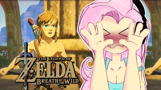 Fluttershy plays LoZ: Breath of the Wild 🍉 | N-NAKED AND AFRAID?